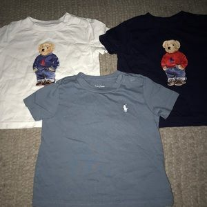 Bundle of Ralph Lauren T-shirts 9M
